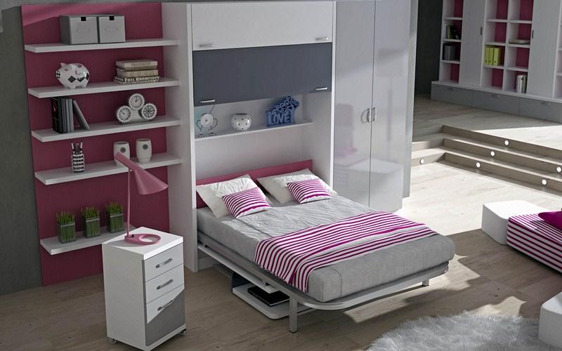 Camas verticales fabricadas a medida parchis muebles - Camas plegables verticales ...