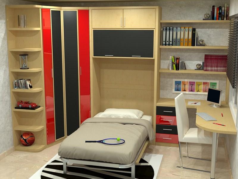 Camas verticales fabricadas a medida parchis muebles for Mueble cama abatible vertical matrimonio