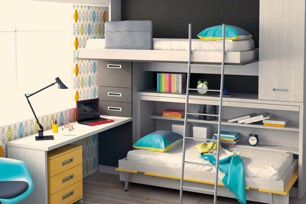 camas-abatibles-3d-amarillo