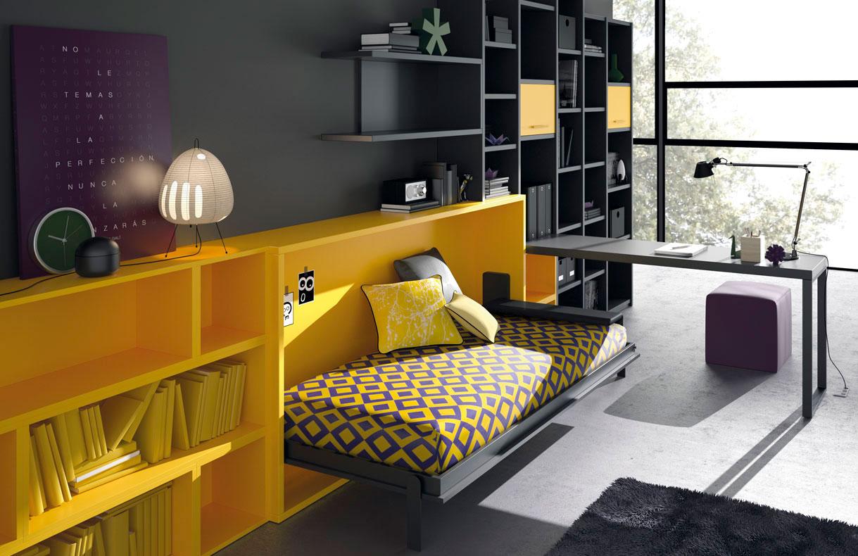 habitaciones-juveniles-amarillo