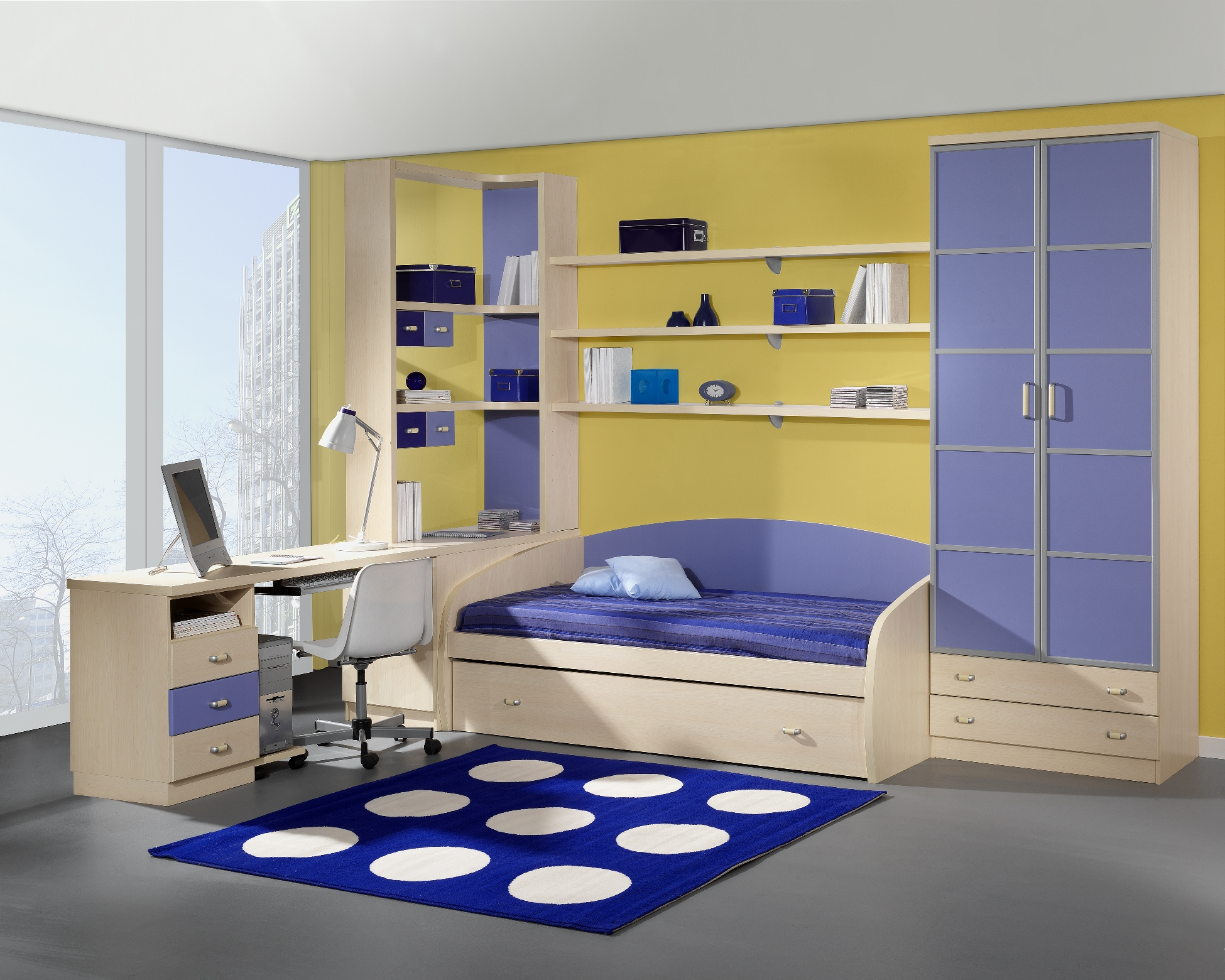 Dise o de camas nido a medida parchis muebles juveniles - Camas modernas para jovenes ...