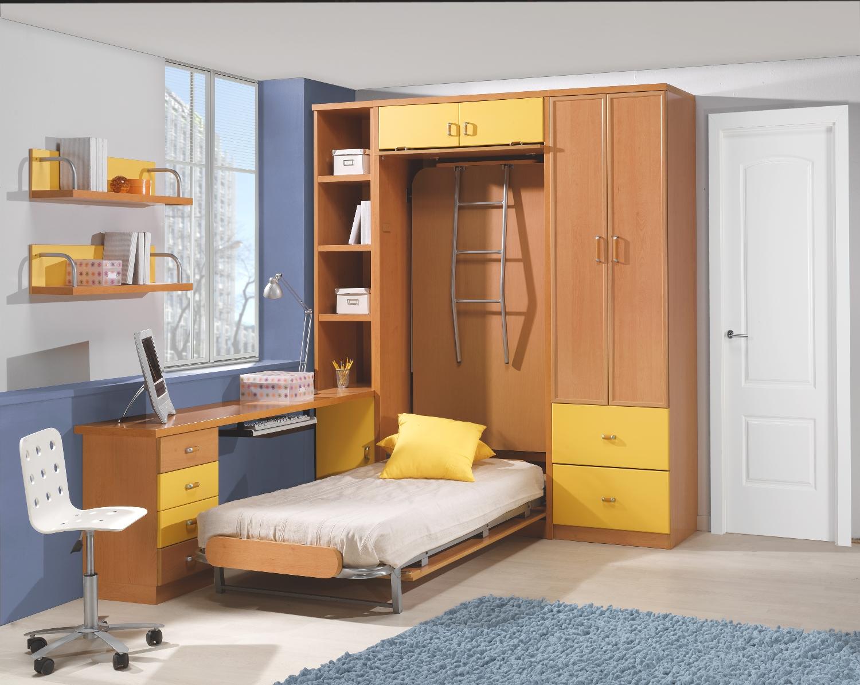 Literas de cuatro camas latest literas de cuatro camas for Mueble litera abatible vertical