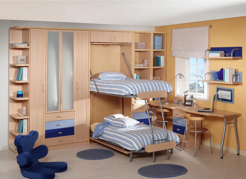 Literas verticales de dise o juvenil parchis muebles for Litera mueble joven